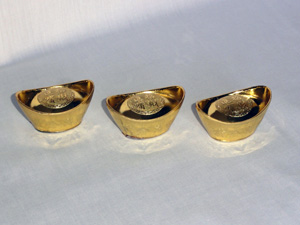 Фэн-шуй символы: Слиток золота