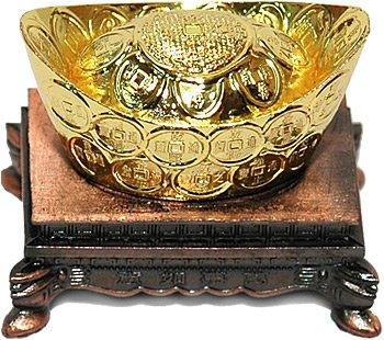 Слиток золота и его роль в фен шуй