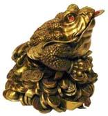Символы удачи и защиты в фен шуй: Трёхлапая жаба