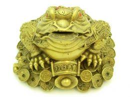 Фэн-шуй символы:Денежная жаба, Трехлапая жаба с монеткой во рту, Чань Чу