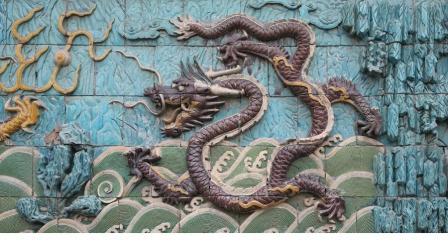 Феншуй символы:Стена Девяти Драконов и ее роль в феншуй